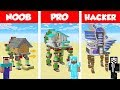 Minecraft NOOB vs PRO: MODERN WALKING HOUSE CHALLENGE in Minecraft / Animation
