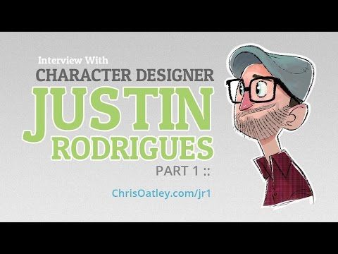 Interview With Character Designer Justin Rodrigues (Part 1) :: ArtCast #86