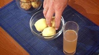 Картофель против болезней сердца, народные рецепты