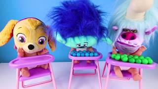 Trolls 2 World Tour Chef Pranks Disney Princess | Jail Lock and Key Playset