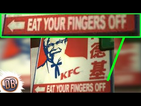 12 Dumbest Advertising Translations Ever