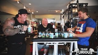 Ben and Jerry's Ice Cream Eat Off vs Rich Piana | Furious Pete