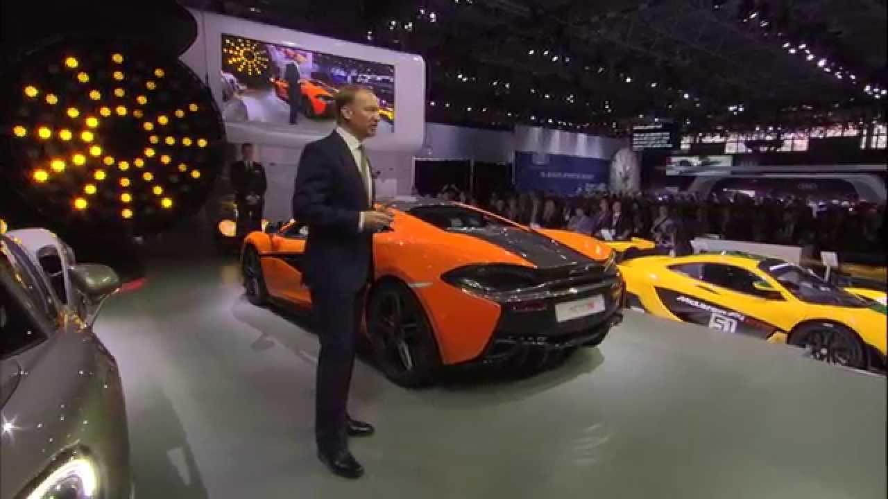 Highlights of the McLaren Press Conference at the New York Auto Show 2015