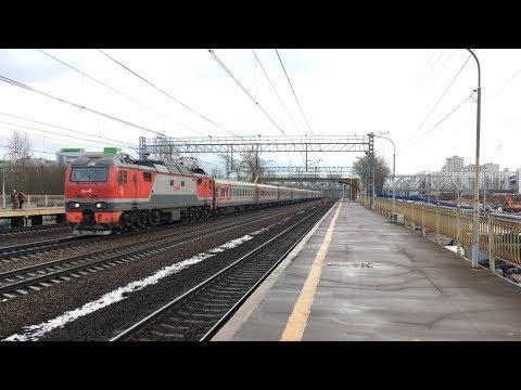 ЭП2К-218 с поездом Владикавказ-Санкт-Петербург (4К)