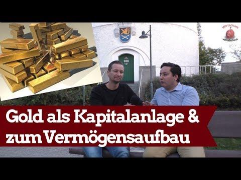Gold Zum Vermögensaufbau & Zur Kapitalanlage