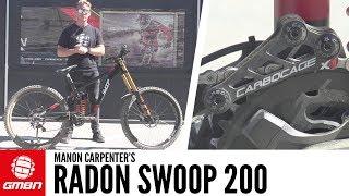 Manon Carpenter's Radon Swoop 200 | GMBN Pro Bikes