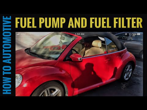 How to Replace the Fuel Pump and Fuel Filter on a 1998-2011 Volkswagen Beetle
