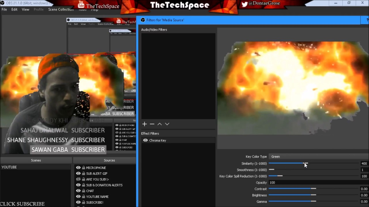 HOW TO ADD OBS GREEN SCREEN EFFECTS! AMAZING!