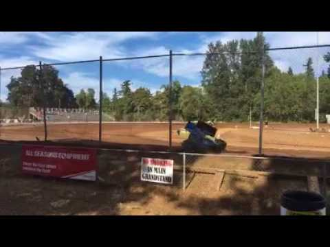 Cottage Grove Speedway, August 2017, Summer Thunder Series, Sprint Race Hot Laps