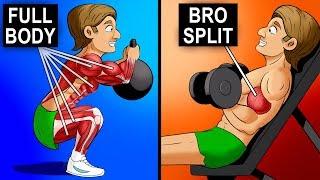 FULL BODY vs SPLIT TRAINING (Which Is Best?)