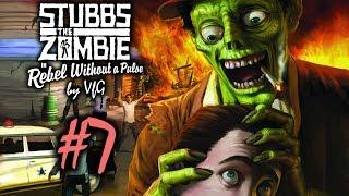 Stubbs the Zombie Месть короля 7 Чертов танк