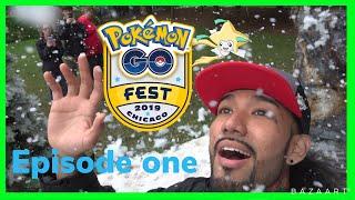 Jirachi Quest at GO Fest 2019 + Shiny Pokemon!