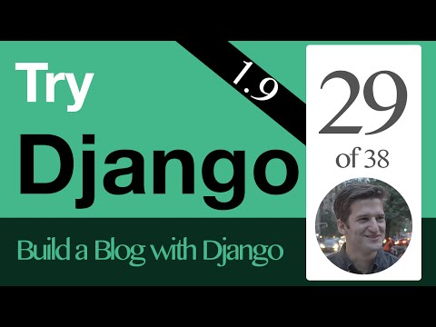 Try Django 1.9  - 29 of 38 - SlugField