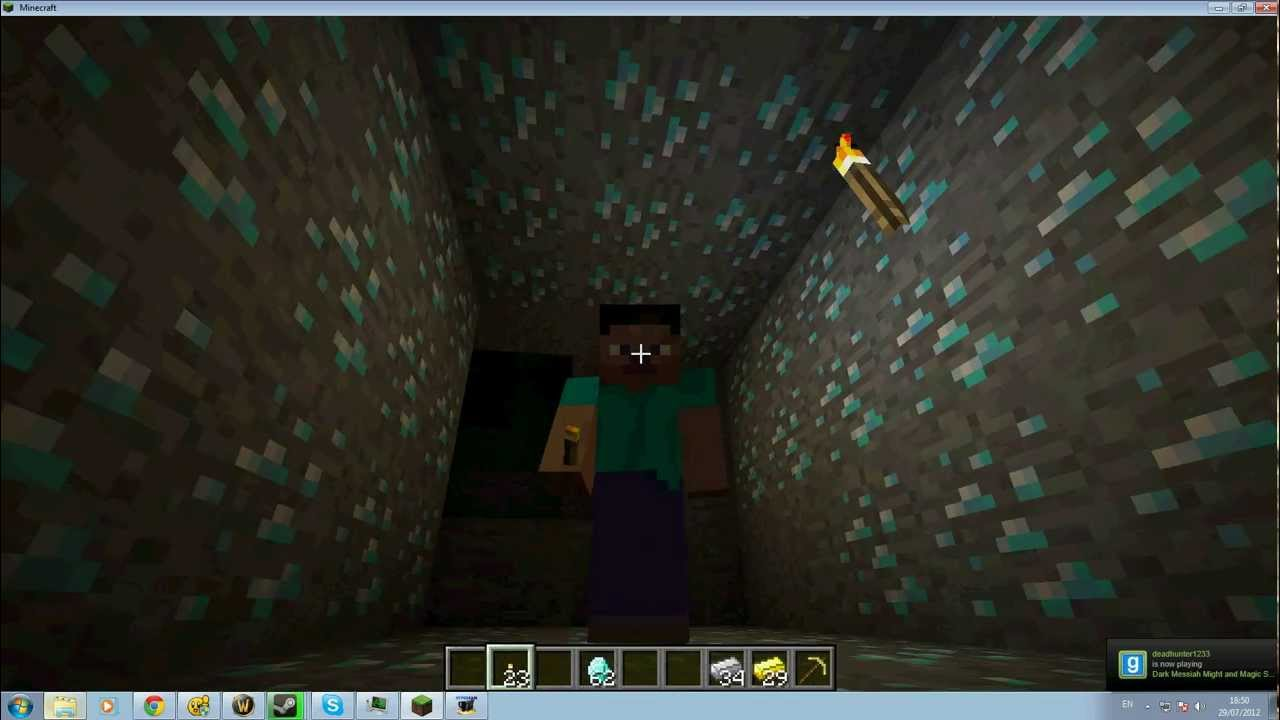 how to find a diamond mine in minecraft