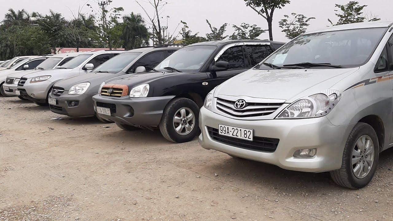 Lô xe Ôtô 7 chỗ máy dầu ,xăng nhập khẩu trong nước giá rẻ chỉ nhô 100tr có xe.Lh:0986304686