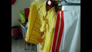 Replica Of One Freddie's 1986 Magic Tour Costumes