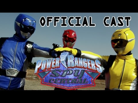 Power Rangers Spy Central Official Cast Announcement Youtube