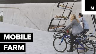 Mobile Garden Grows on Top of Your Bicycle