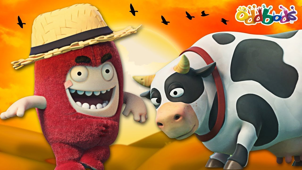 Oddbods   COUNTRY COWBOY FUSE   Funny Cartoons For Children