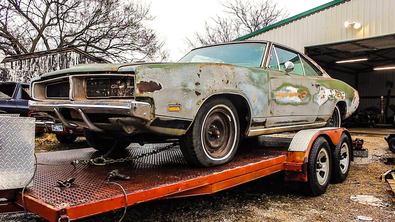 1969 Dodge Charger Finds New Home After 34 Years Youtube