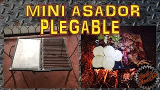 DIY| Mini asador plegable