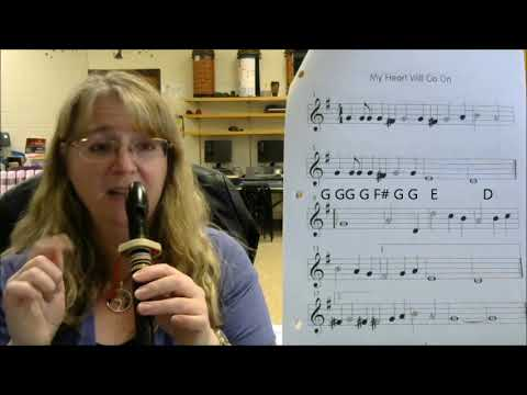 My Heart Will Go On  Recorder Tutorial