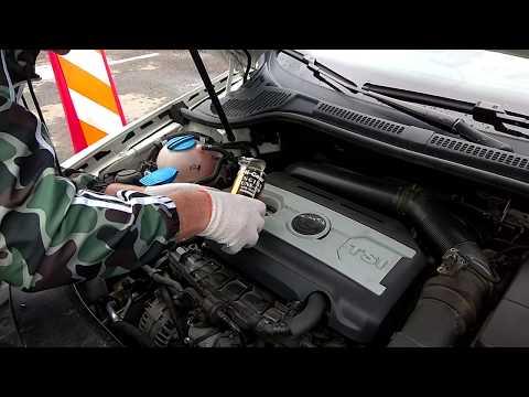 Мастер Класс! Добавляю в TSI 1.8 - Hi Gear Мягкий очиститель для двигателей с износом с SMT2, Ч.4