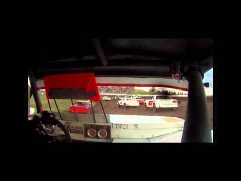 Robert Petroff wissota street stock crash (Gallatin Speedway)