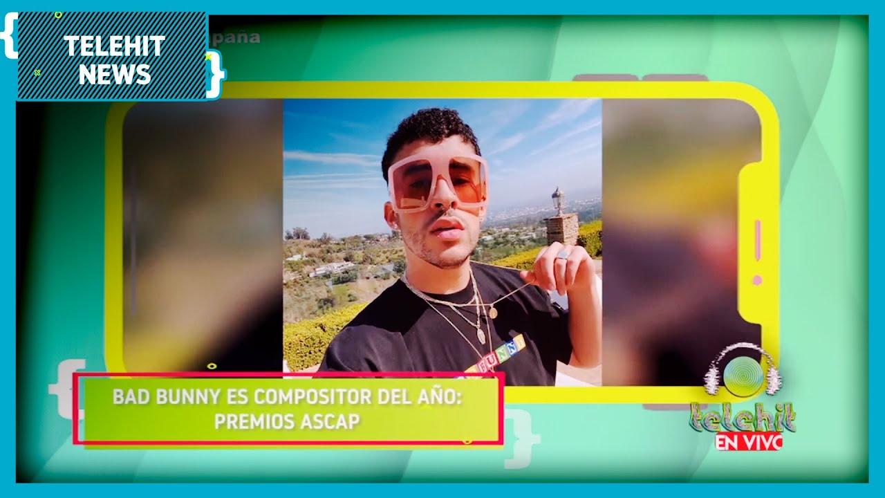 @Bad Bunny es reconocido como el compositor del año | Telehit News