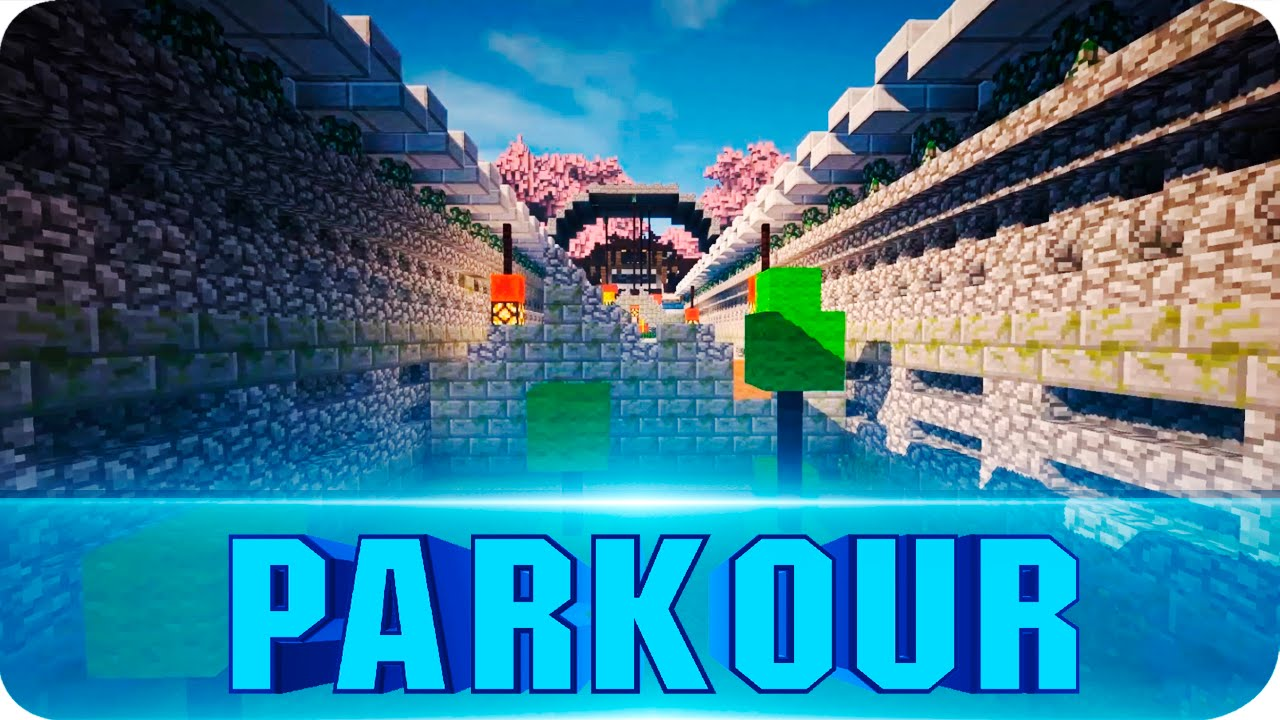 Minecraft Maps Extreme Parkour Map W Download Minecraft - Mapas para minecraft 1 10 2 de parkour