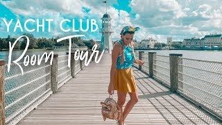 Disney World Yacht Club Room Tour   What I pack for a Disney Vacation