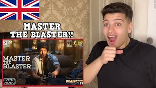 Master - Master the Blaster REACTION! | Thalapathy Vijay | AnirudhRavichander | LokeshKanagaraj