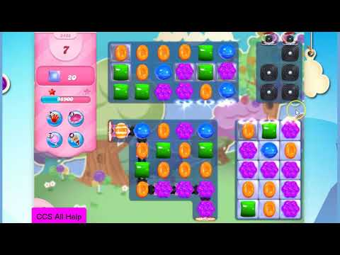 Candy Crush Saga Level 2488 NEW NO BOOSTERS Cookie