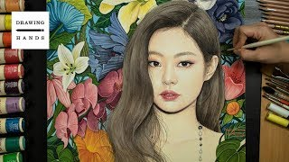 Speed Drawing BLACKPINK- Jennie [Drawing Hands]