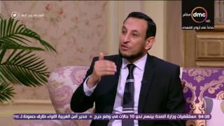 السفيرة عزيزة - الشيخ / رمضان عبد المعز : علمنا رسول الله التعازي ( إن لله ما أخذ )