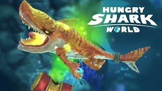 ATOMIC SHARK Brand New Shark - Hungry Shark World New Update - Biggest Shark Ever!