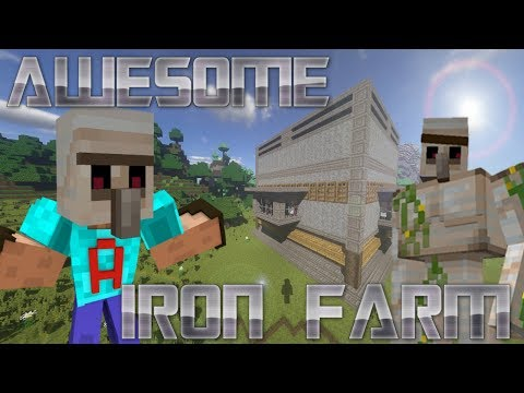 How To Make An Iron Farm In Minecraft | Minecraft Iron Golem Farm Tutorial | Easy Minecraft Tutorial