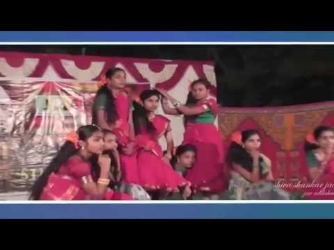 Dibiri Dibiri video song, on SJC-JNV ADILABAD, 21-11-2014.