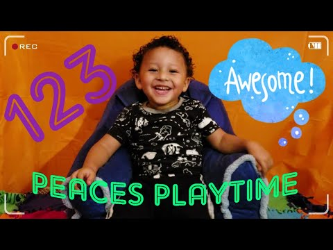 Kids Learn Numbers & Fun Toddler Activity W/PeacesPlayTime!