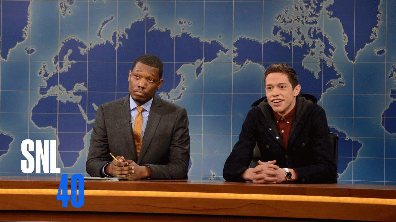Download Weekend Update: Pete Davidson Talks Business   Saturday Night Live