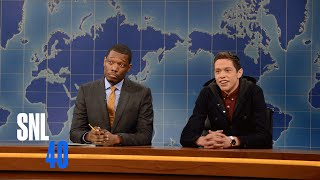 Saturday Night Live Weekend Update Videos: Colin Jost And Michael Che