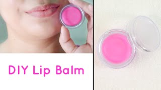how to make lip balm at home for soft pink lips   diy lip balm