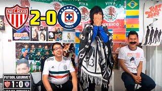 Reaccion al Necaxa vs Cruz Azul (2-0) | Jornada 9 | Liga mx