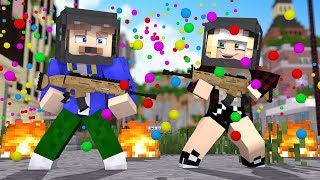 WIR SPIELEN PAINTBALL IN MINECRAFT!