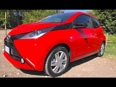 new toyota aygo x wave 2015 first test drive youtube. Black Bedroom Furniture Sets. Home Design Ideas