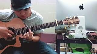 Đắp Mộ Cuộc Tình - [Mitxi Tòng]Guitar Solo