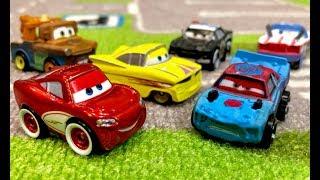 Disney Cars Mini Racers Cruisin Lightning McQueen & Fishtail - Rare Mini Racers