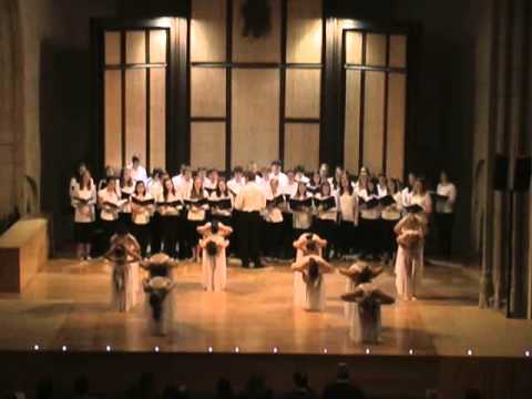 Avila Spain Choir Dance Performance 2013
