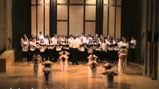 Avila Spain Choir Dance Performance 2013