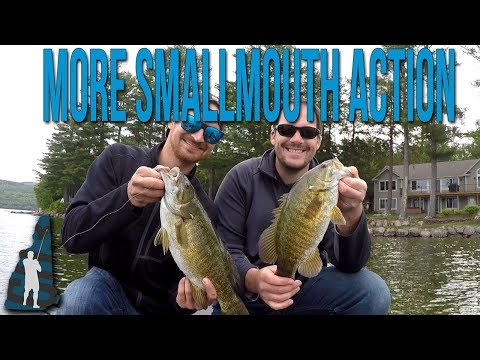More Smallmouth Action! // Newfound Lake, NH